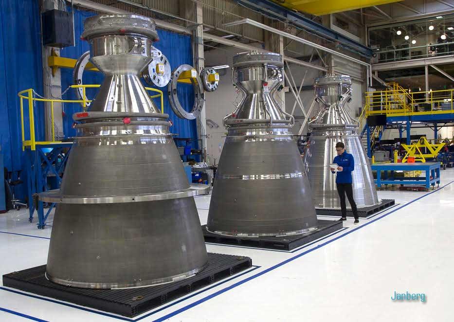 Ракетный двигатель BE-4 от Blue Origin