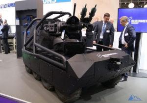 UGV - Rheinmetall Multi Mission