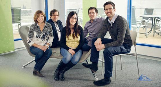 LTR: Barbara Baur, Dieter Baur, Julia Baur, Fabian Baur and Rafael Baur.
