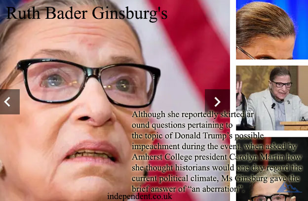 Судья Верховного суда США Рут Бадер Гинзбург
