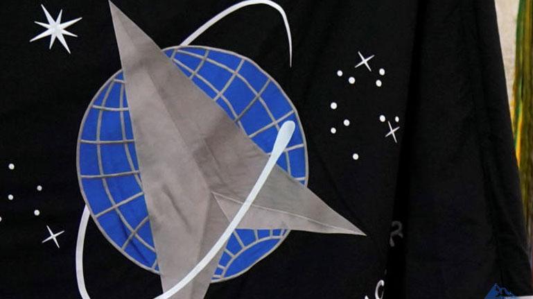 Официальный флаг - Космические силы США